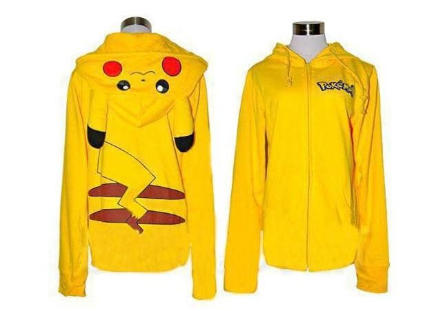 2e85c299a25 Blusa com Capuz Pikachu - Pokémon - Feminino